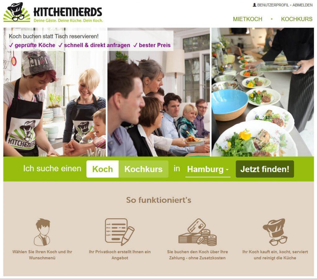 neue Kitchennerds-Startseite